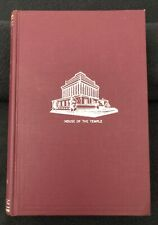 Morals & Dogma House of the Temple Freemasonry Rites Hard Cover Book 1969