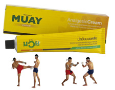 Namman Muay Thai cream analgesic exercise relieves muscular aches pain 100 g.