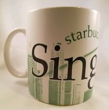 2008 Starbucks City Mug Collection Series Singapore Coffee Mug