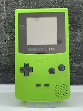 Nintendo Game Boy Color/Colour Handheld Console CGB-001 - Lime Green - Free P&P!