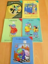 Lot of 5: BOOKS  Let's Read With THE LETTER PEOPLE  2000  WITH FREE SHIPPING  PB