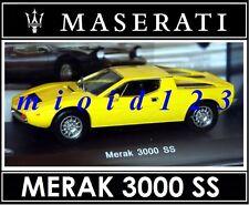 1/43 - Maserati 100 Years Collection : MERAK 3000 SS [1976] - Die-cast