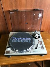 Technics SL-1200MK5 SILVER Analog DJ Turntables w/ Shure SC35C cartridge