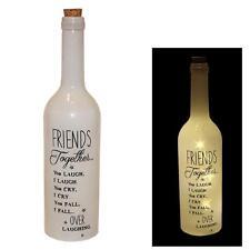 """""""FRIENDS"""" STARLIGHT BATTERIA illuminare Bottiglia-Natale/Regalo Di Compleanno"""