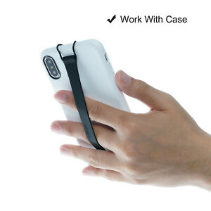 TFY Non-slip Silicon Hand Strap Holder for i Phone 11 Pro/ 11/ Xs Max / Xs/ XR