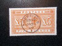 GB~1876~ QV~£5 Orange~ Forgery~Reproduction, cat £3500~SG137~ uk seller