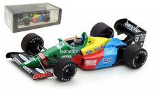 Spark S5201 Benetton B188 3rd British GP 1988 - Alessandro Nannini 1/43 Scale