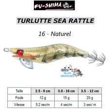 Turlutte Jig Lure FU-SHIMA SEA RATTLE Naturel Calamars Seiches Squid Cuttlefish