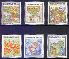 Mint Never Hinged/MNH Single Zimbabwean Stamps (1965-Now)