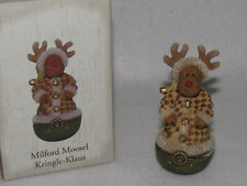 Milford Moosel Kringle Klaus Boyds Treasure Box Collection - 4018014 - Mib