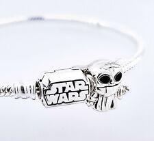 NEW 100% PANDORA Star Wars The Child Mandalorian Yoda Charm Pendant 799253C01