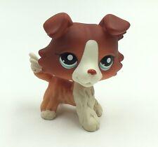 Littlest Pet Shop Collie Dog #1542 LPS dog Cute Toys Puppy
