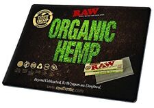 "RAW Papers Organic Hemp Black Large 16"" X 12"" Mouse Pad/Rolling Mat-FREE SHIP"
