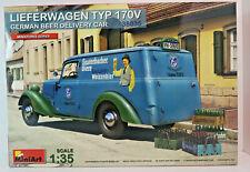 MiniArt 38035 German Beer Delivery Car Lieferwagen Typ 170v In 1 35