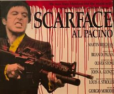 "Steve Kaufman ""Scarface"" Pop Art, Signed Original"