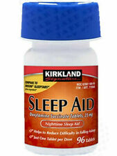 KIRK LAND Sleep Aid 1 Bottle (96 Count) with Expiration Year 2022 by Costco