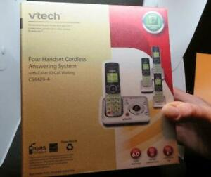 VTech New in Box 4 Handset Cordless Answering System CS6429-4