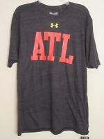 NEW Under Armour Performance Heat Gear Short Sleeve Shirt Large  Gray Atlanta