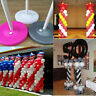 Plastic Upright Stick Pole Balloon Arch Column Base Stand Wedding Party Supplies