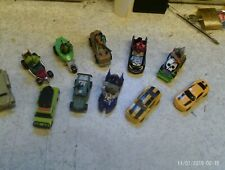 Bundle of Playmates Viacom  11  Cars -  Bonecrusher Tmom Lanomina & transformer