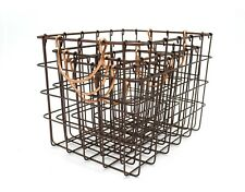Chocolate Metal Nested Baskets (Set of 4) by Handcrafted 4 Home