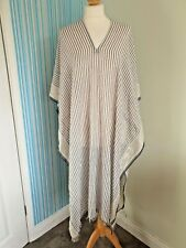 H & M Long Kaftan Free Size, BNWT, Side Fastening, Summer, Cover Up