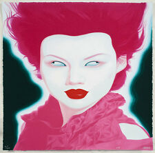 *FENG ZHENGJIE 'CHINESE PORTRAIT #38', 2008 SIGNED, NUMBERED AND DATED, MINT*
