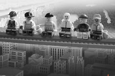 LEGO ON A GIRDER POSTER (61x91cm)  PICTURE PRINT NEW ART