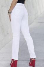 size 12  - WHITE JEANS Monroe and Main Lola Stretch Slim Jean COTTON DENIM PANTS