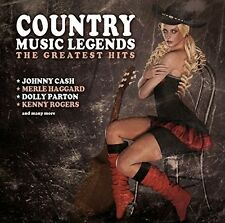 COUNTRY MUSIC LEGENDS  - JOHNNY CASH, WILLIE NELSON, DOLLY PARTON - CD NEU