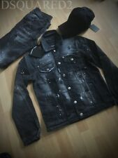 DSQUARED2 Denim Jacket Black and Blue colour / Discounted