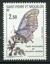 Timbres faune, sur papillons
