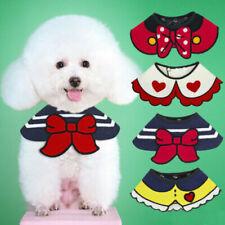 Cat Dog Bandana Bibs Scarf Collar Adjustable Pet Neckerchief For Small Dog Puppy