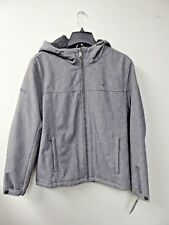 NEW: TOMMY HILFIGER MENS  HOOD JACKET,156AP477, GREY,...