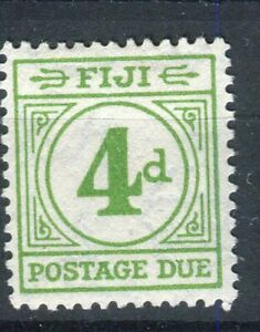 Fiji KGVI 1940 Postage Due 4d emerald green SG.D14 MH