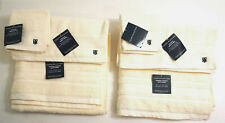 NEW TOMMY HILIFIGER Luxurious 6 piece Bath Towel, Hand Towel and Wash Cloth Set