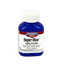 Birchwood Casey Super Blue Liquid Gun Blue-3 OZ-13425 with Free Swabs