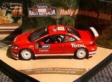 PEUGEOT 307 WRC #6 RALLY AUSTRALIA 2004 VITESSE 43029 1/43 TOTAL