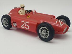 Vintage STROMBECKER PLASTIC Slot Car #25 Ferrari Used Built