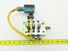 Lubriquip Graco Msp-25S Msp-30S Modular Lubrication Divider Valve Assembly