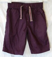 Boys Next Dark Purple Elasticated Waist Long Cargo Board Shorts Age 6 Years