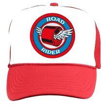 ROAD RIDER Skateboard Wheels Trucker HAT Vintage Style 70s 80s CAP punk