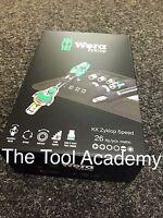 Wera Tools LAST FEW LEFT Kraftform Compact Zyklop 1/4 Dr Ratchet Driver Bit Set