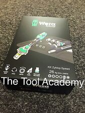 Wera Tools AUGUST SALE Kraftform Compact Zyklop 1/4 Drive Ratchet Driver Bit Set
