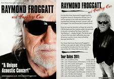 2 X RAYMOND FROGGATT TOUR FLYERS - FROGGIE