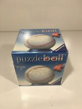3D Puzzle Ball Baseball Ravensburger Sealed In Box 60 PC - Brand New!!