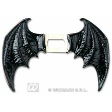 BAT WINGS BLACK MAXI Accessory for Vampire Dracula Fancy Dress