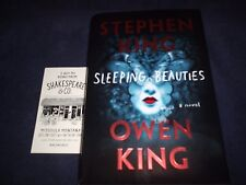 """STEPHEN KING SIGNED BOOK TITLED """"SLEEPING BEAUTIES"""" 1ST EDITION RARE! AWESOME!"""