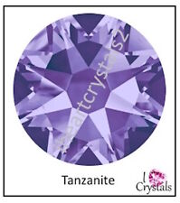 TANZANITE Purple 20ss 5mm 72 pieces SWAROVSKI Crystal Flatback Rhinestones 2088