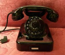 W48 Telefon Bakelit  MIX&GENEST Fernsprecher Telephone  W48 WIE NEU!